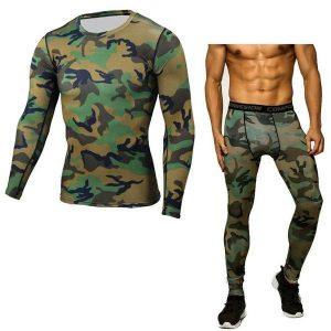 Men Pants&TShirt Set
